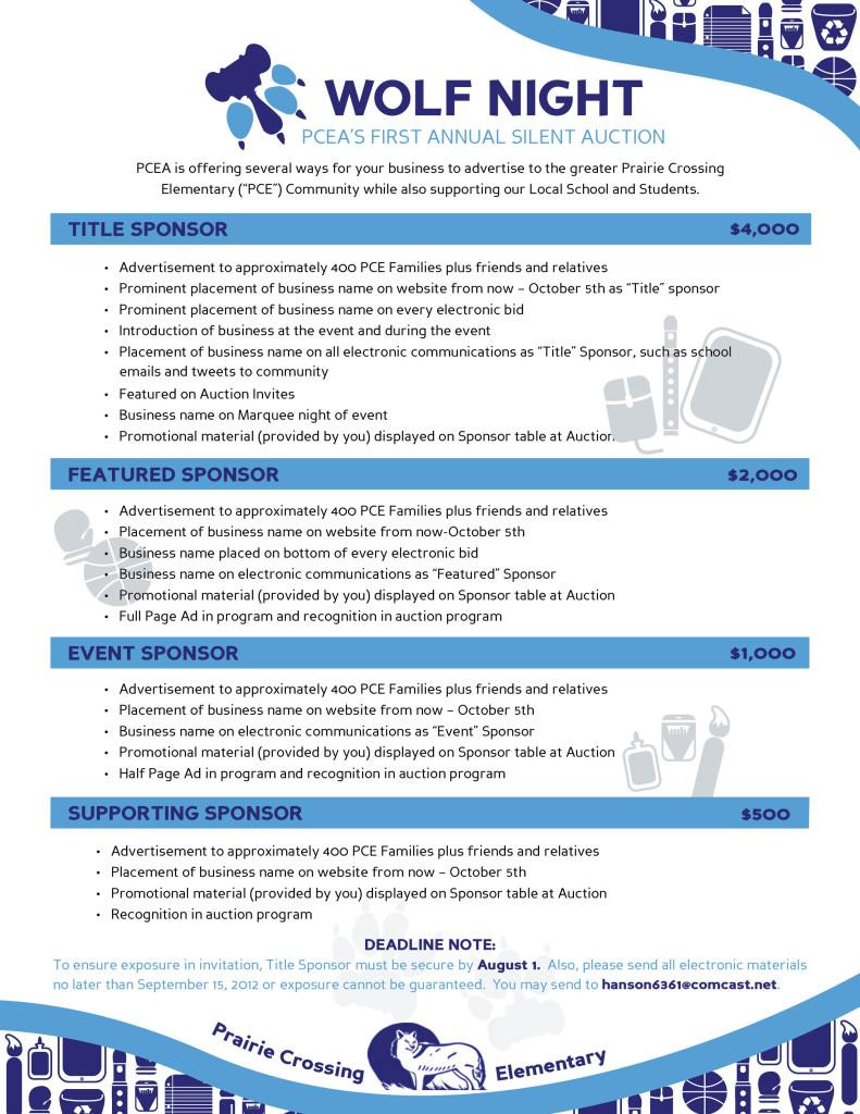 Doc17002338 Sponsor Sheet Doc725946 Sponsor Sheet Sponsorship – Sponsor Sheets for Fundraising