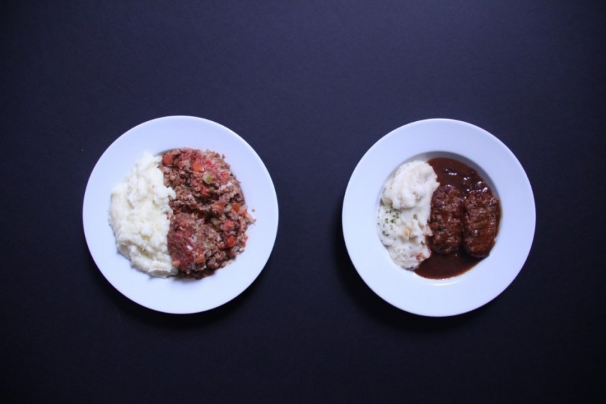 Homemade meatloaf vs Stouffer's meatloaf