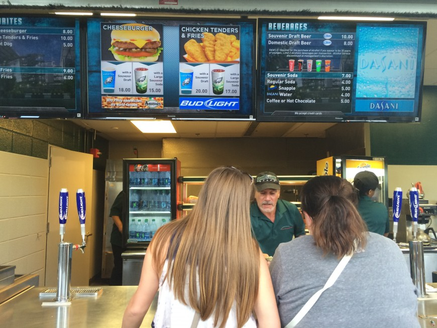 taylor swift 1989 world tour philadelphia concert lincoln financial field concession stand